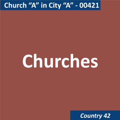 00421 Church A